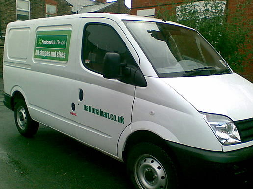 white van woman!