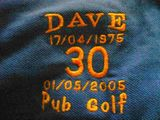 Dave's Pub Golf 2005 (Part 1)