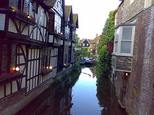 Canterbury .. mind the Dipping Chair!
