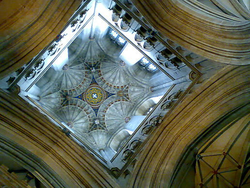 Looking Up - Canterbury Cathedral