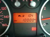 10,000 miles exactly when i got to work this morning!