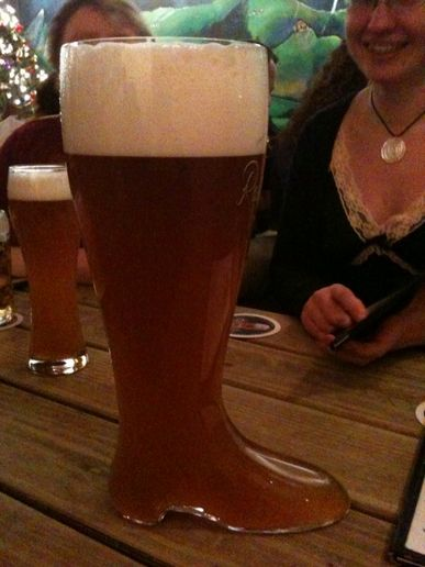 Birthday Beer Boot