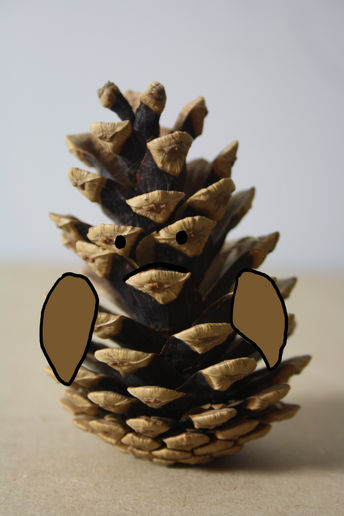 A pinecone in disguise.