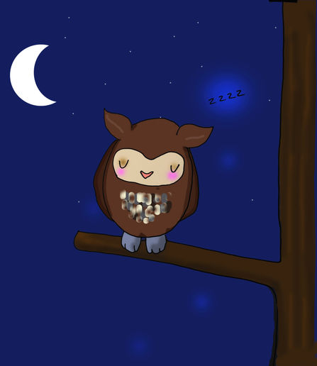 Not such a night owl.