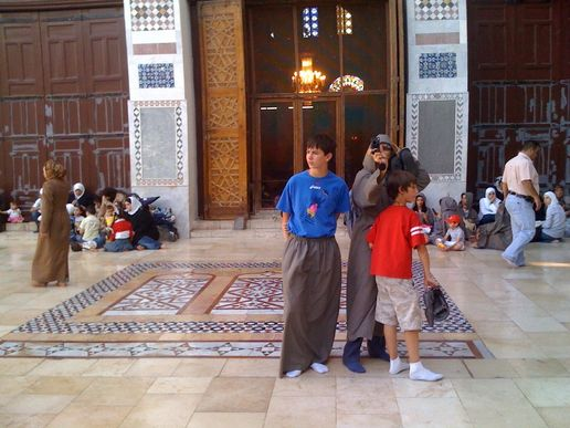 DAMASCUS-the Umayyad Mosque