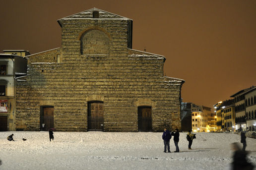 "Firenze: the ""monumental"" snowfall of 17th December 2°"