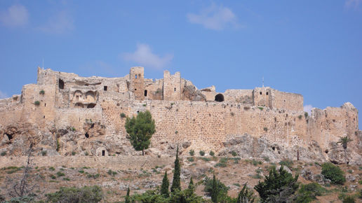 MASYAF the castle of the sect of Hashishin (Assassins)