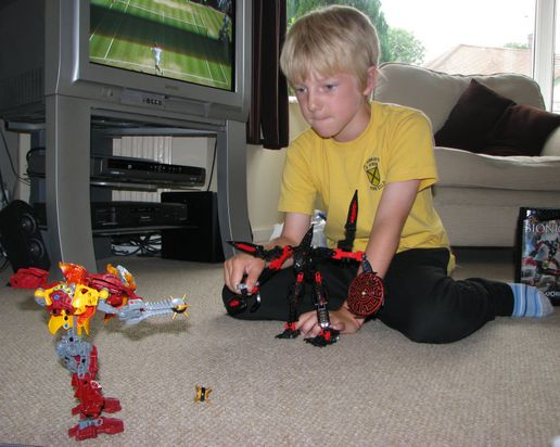 Bionicles Attack