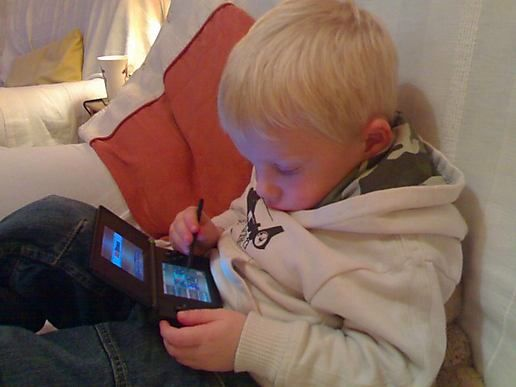 Tobey on the DS