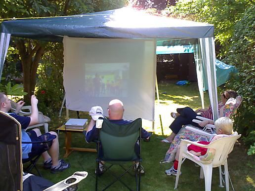 World Cup in the Garden