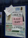 Reduced Fee's