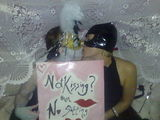 Masked Ball - Sitting and Kissing