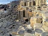 down at the giants causeway
