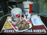 kfc aftermath it was lovely :-)