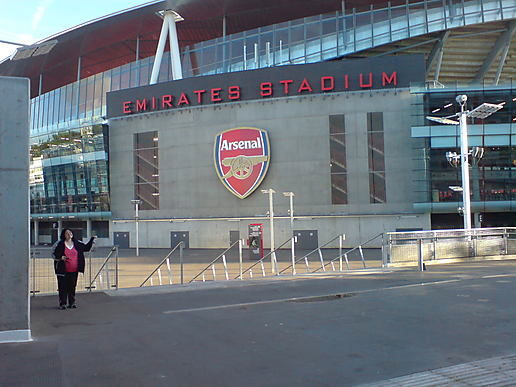 We Visited Arsenal!