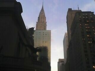 MonkeeSee says: Chrystler Building @ foot of Grand Central.