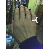 MonkeeSee says: Pippin Vintage Jewelry on 16th St in NYC. Finnish ring circa 1974