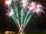 Filey Lions firework display 2008