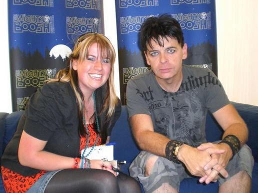 CJ and Gary Numan