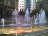 Fountains in City Square