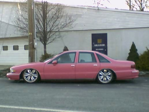 Another pink car
