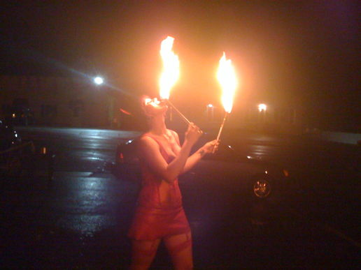 Hot & Sexy Fire-Eater 1