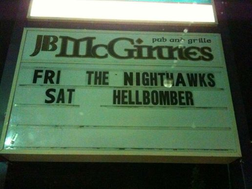 Tonight! HELLBOMBER!