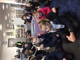Year 5 visit Cotgrave this morning.