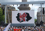 The Big Screen as London 2012 countdown begins