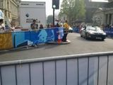 Tour of Britain Cycle Race in London