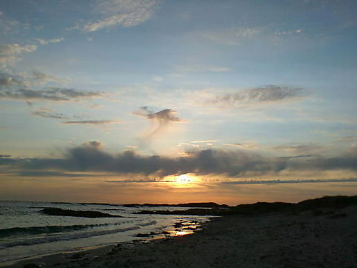 Our last night on Tiree