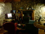 Inside our cosy cottage