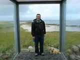 Tiree ferry shelter