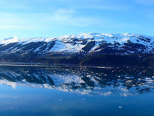 College Fjord reflections
