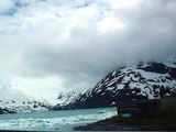 The drive to Whittier, Alaska