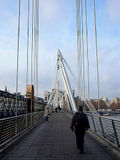 The Hungerford Bridge
