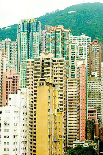 Some views of Hong Kong