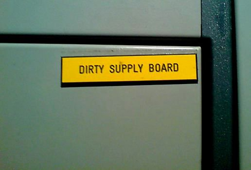 Supply board