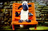 """It's Shaun the sheep"""