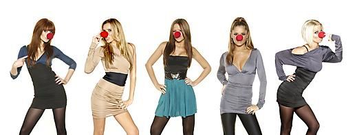 Girls Aloud Love Red Nose Day!