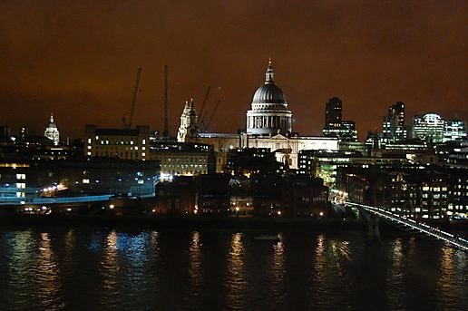 St Pauls last night