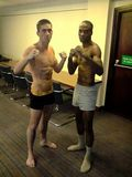 world title defence fight