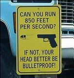 Are you bulletproof?