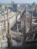 Roof of Duomo cathedral, Milan