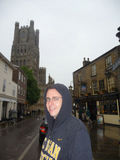 Ely in the rain