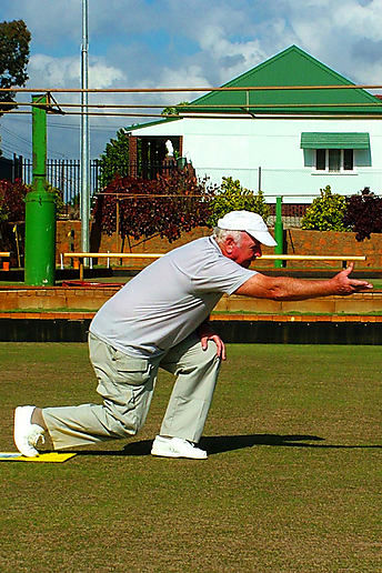 "Grandad taught us all to bowl, but he's still ""the master"""