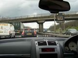 journey up to scotland - bank holiday traffic