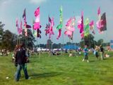 pretty flags at the Electric Picnic