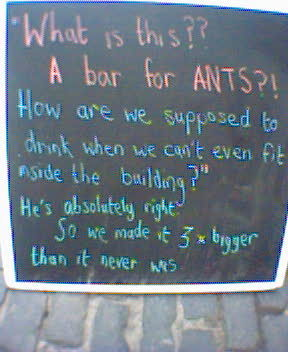 Ants, you say?