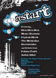 restart - club flyer design and print
